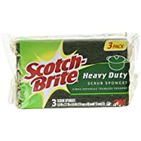 8-Pack Scotch-Brite Heavy Duty 3-Count Scrub Sponge (24 sponges total)