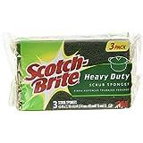 Scotch-Brite Heavy Duty Scrub Sponge, 3-Count (Pack of 8)