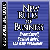 img - for New Rules for Business: Groundswell Expanded and Revised Edition; Content Rules; The Now Revolution book / textbook / text book