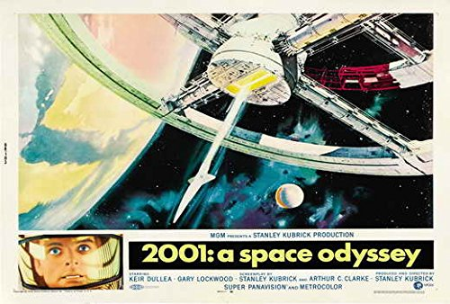 2001: A Space Odyssey POSTER Movie (1968) Style M 27 x 40 Inches - 69cm x 102cm (Keir Dullea)(Gary Lockwood)(William Sylvester)(Dan Richter)(Leonard Rossiter)(Margaret Tyzack)(Robert Beatty) (2001 A Space Odyssey Toy compare prices)