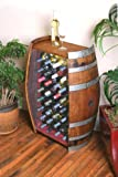 32 Bottle Wine Barrel Cabinet By Wine Barrel Creations