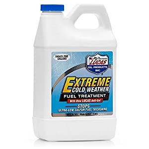 Lucas 10021 Extreme Cold Weather Diesel Fuel Treatment - 64 oz.