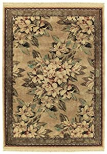 Shaw Living Boudreaux Area Rug, 2-Feet 3-Inch by 3-Feet 5-Inch, Natural