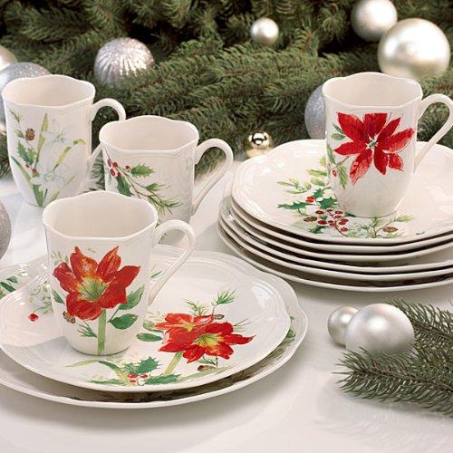 Lenox Winter Meadow 12 Piece Dinnerware Set