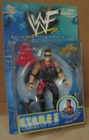 WWF STOMP Series 2 Rocky Maivia by Jakks Pacific Inc 1998
