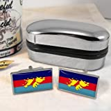 Military of the Falkland Islands Flag Mens Gift Cufflinks UK
