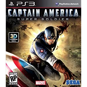 Captain America: Super Soldier Video Game for PS3