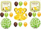 Lion King Welcome Little One Baby Shower Party Balloons Decorations Supplies