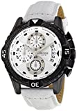 Guess Men's Quartz Watch ACTIVATOR W18547G2 with Leather Strap