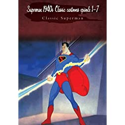 Superman 1940s Classic cartoons episode 1-7