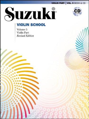 Imagen de Alfred Suzuki Violin School Volume 5 revisado (Libro / CD)