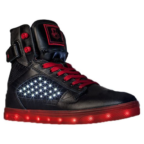 vlado s atlas led casual shoes black