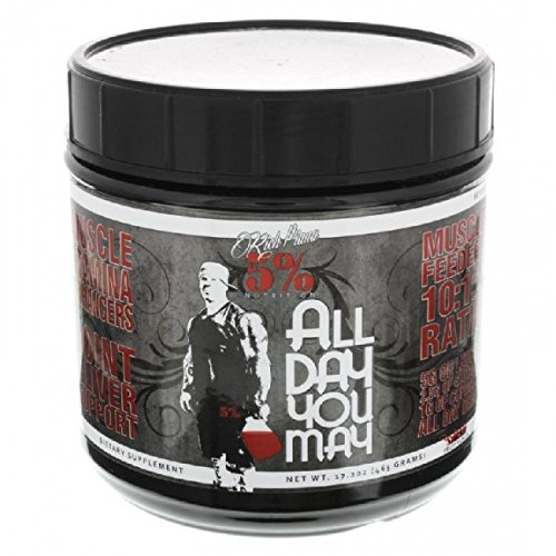 Rich-Piana-5-Nutrition-ALLDAYYOUMAY-Growth-and-Full-Body-Recovery-Blue-Raspberry-30-Servings