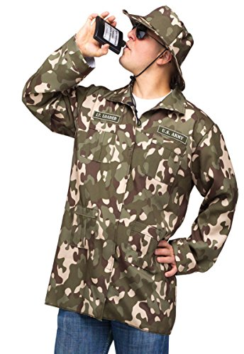 Fun World Funny Mens Military Army Soldier Flask Halloween Costume
