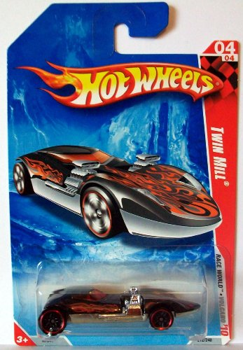 2010 Hot Wheels 04/04 Twin Mill, Black/Red 1:64 - 1