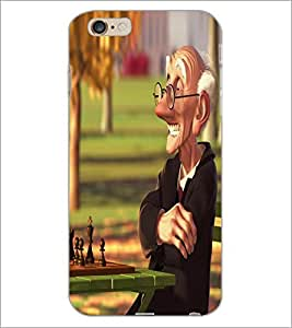 PrintDhaba Funny Image D-4014 Back Case Cover for APPLE IPHONE 6 (Multi-Coloured)
