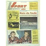SPORT LUNDI du 18/09/1989 - FOOT - GUINGAMP - LORIENT - ATHLETISME - PLAZIAT - GATAULINE - TRIATHLON DE QUIMPER...