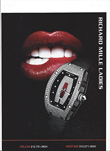 print-ad-for-richard-mille-ladies-watches-red-mouth-scene-print-ad