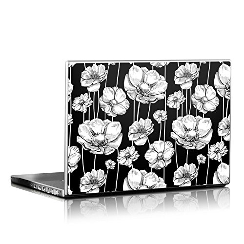 Striped Blooms Design Protective Decal Skin Sticker (Matte Satin Coating) for 15 x 10.5 inch Laptop Notebook Computer Device