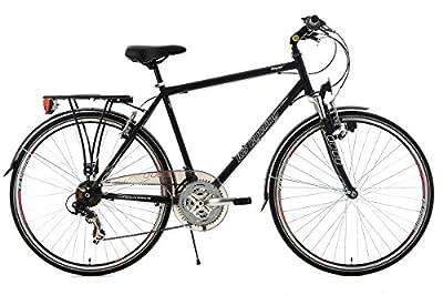 KS Cycling Herren Fahrrad Trekkingrad Vegas RH 58 cm Flachlenker, Schwarz, 28, 103T