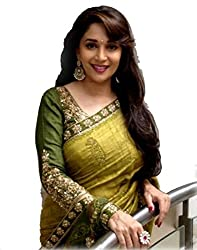 Sonani Fashion New Designer Georgette Green Party Wear Bhagalpuri Sarees With Blouse Piece