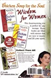 img - for Chicken Soup for the Soul: Wisdom for Women 3 Book Set: Chicken Soup for the Woman's Soul; A Second Chicken Soup for the Woman's Soul; Chicken Soup for the Working Woman's Soul (2003-05-03) book / textbook / text book