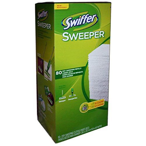 6 Wholesale Lots Swiffer Sweeper Dry Cleaning Cloth Refills 480 Cloths Total