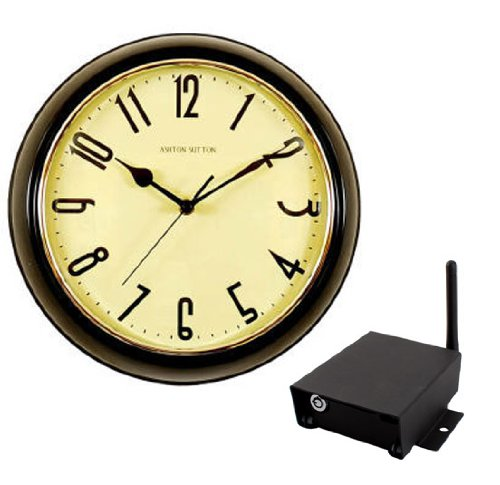 SleuthGear Covert Digital Wireless Wall Clock with IP Receiver