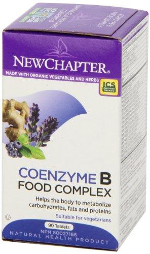 补充精力,New Chapter 食物提取B族维生素 90片图片