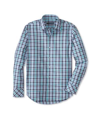 Zachary Prell Men's Flaig Checked Long Sleeve Shirt