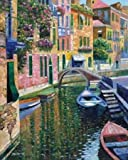 Romantic Canal by Behrens, Howard - Fine Art Print on PAPER : 23.5 x 29 Inches