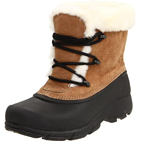 DECENT FEATURES of the Sorel Women's Snow Angel Lace Boot Waterproof suede leather upper 200g Thinsulate Insulation Fully lined faux fur interior Removable EVA comfort foot bed Injection molded waterproof thermal rubber shell Built on a woman's speci...