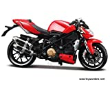 31197 Maisto   Ducati Mod  Streetfighter S Motorcycle  1 12  Red  31197 Diecast Car Model Auto Vehicle Automobile Metal Iron Toy