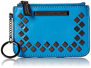 Rebecca Minkoff Little Louie Keychain Wallet, True Turquoise, One Size