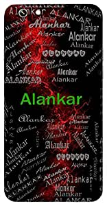 Alankar (Gold; Ornament) Name & Sign Printed All over customize & Personalized!! Protective back cover for your Smart Phone : Moto G2 ( 2nd Gen )