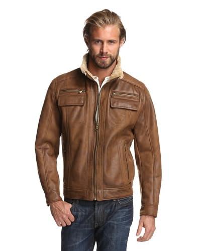Calvin Klein Men's Faux Shearling Bomber Jacket