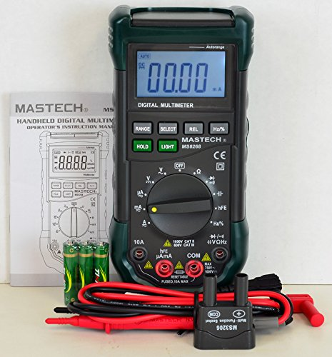 Mastech-MS8268-Digital-ACDC-AutoManual-Range-Digital-Multimeter-Meter
