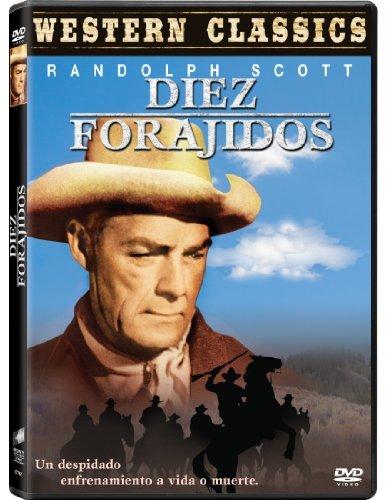 Ten Wanted Men (1954) - Region 2 PAL, English audio & subtitles by Randolph Scott