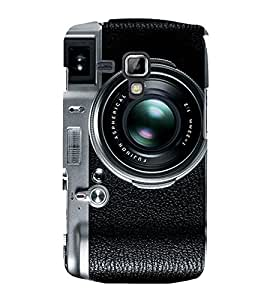 Camera Lens Click 3D Hard Polycarbonate Designer Back Case Cover for Samsung Galaxy S Duos S7562