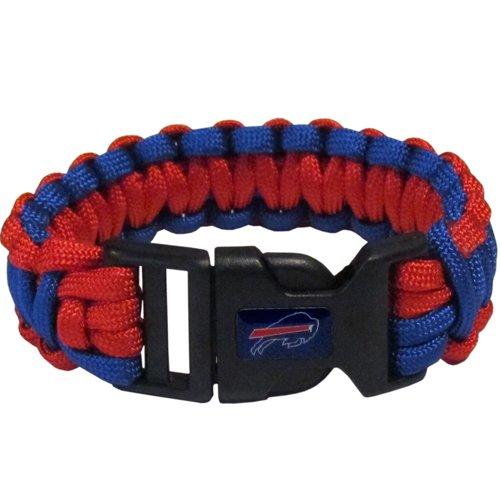 Buffalo Bills Nfl Survival Paracord Bracelet Large Authentic Football Team front-944764