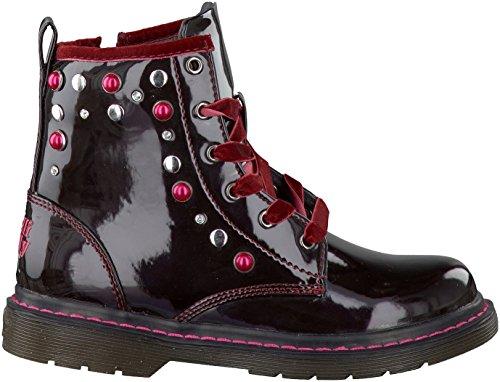 LELLI KELLY LK8465 nero scarpe bambina stivaletti zip