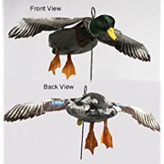 Deadly Decoys Mallard Drake Flapper Flyer Decoy by Deadly Decoys