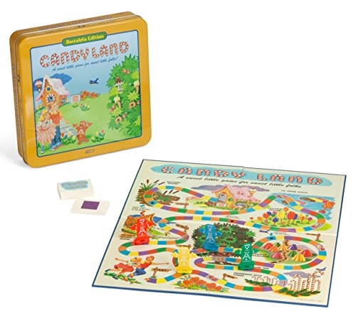 Candyland Deluxe Board Game in Classic Nostalgia Collector's Tin by Winning Solutions (Candyland Board Game Classic compare prices)