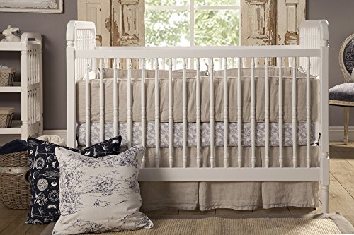 Franklin & Ben Liberty 3-in-1 Convertible Crib with Toddler Bed Conversion Kit - 1