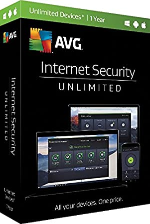 AVG Internet Security 2017 - 1 Year Unlimited Devices (PC)