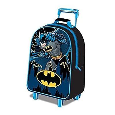 Batman Children's Luggage Batman Wheeled Bag 15 liters Black (Blue/Black) BATMAN001015 by Batman