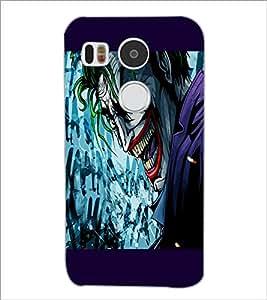 PrintDhaba Cartoon joker D-3283 Back Case Cover for LG NEXUS 5X (Multi-Coloured)