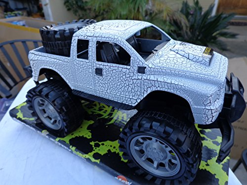 Big Wheels Monster Pickup Truck Ext Cab Friction power special exterior paint (Monster Truck Power Wheels compare prices)