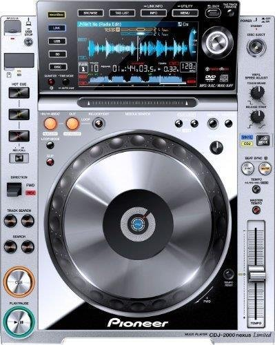 Buy Pioneer CDJ-2000NXS-M Nexus Pro DJ Deck, Platinum Limited Edition