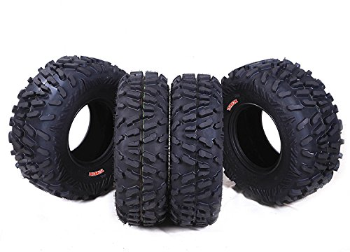 Terache Atlas ATV/UTV Tire 25x8-12 Front & 25x10-12 Rear, Set of 4 (Atlas Tire compare prices)